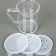 Acrylic Dredger Measuring Cup