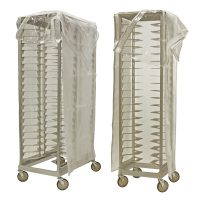 pan rack clear cover